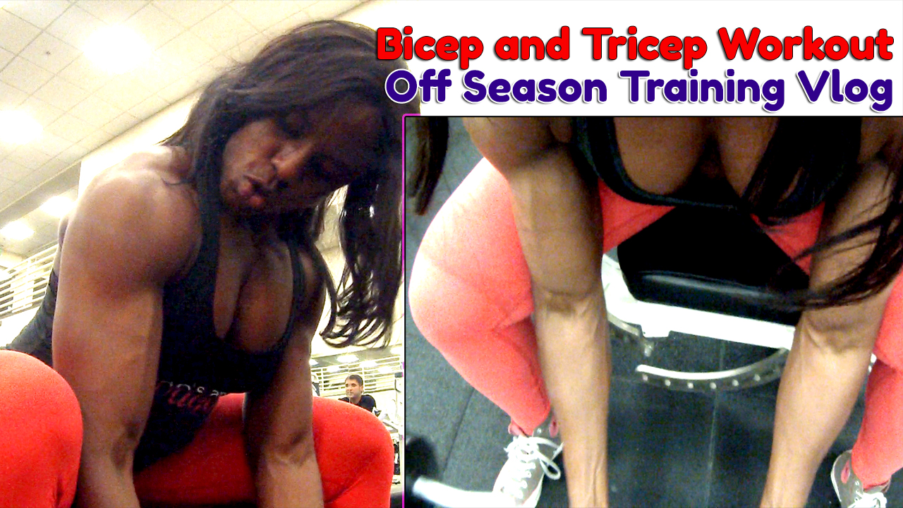 Off Season Training Vlog – Biceps and Triceps – 25 Weeks Out From Prep (Non Member Content)